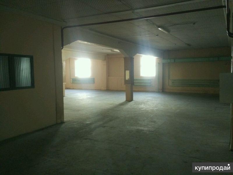 Сдается производственно складское помещение 400м2 на улице баумана.