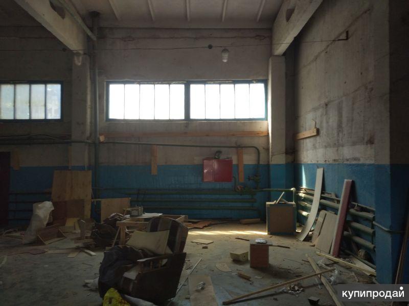 Сдается производственно складское помещение 385м2 на улице баумана.
