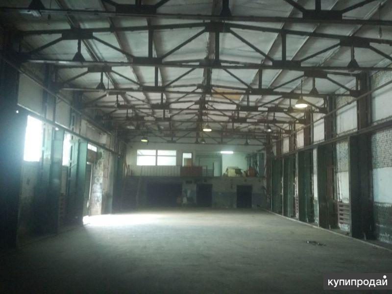 Сдам производственно-складское помещение 1000 м2 на ул. Рябова 4