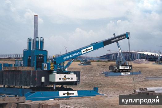 Сваевдавливающая установка YZY320