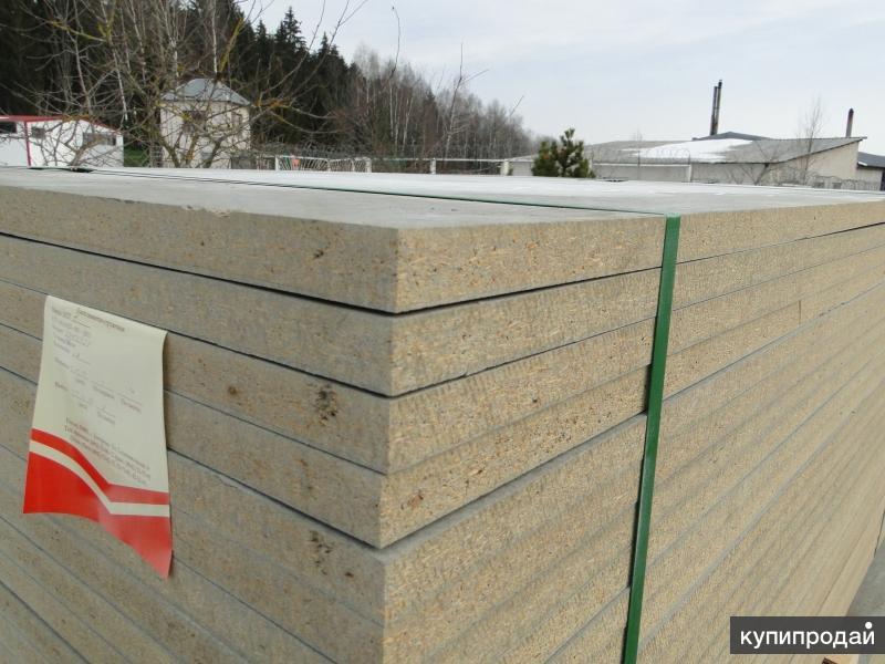 ЦСП цементно стружечная плита.