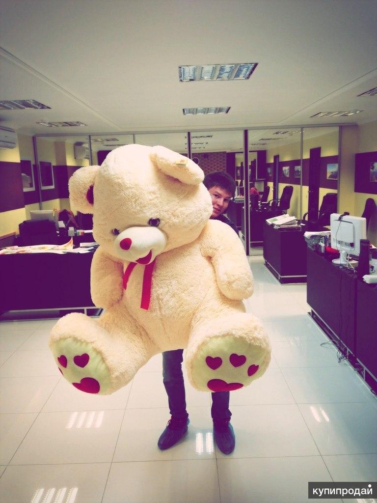 Медведи большие плюшевые 120-180см