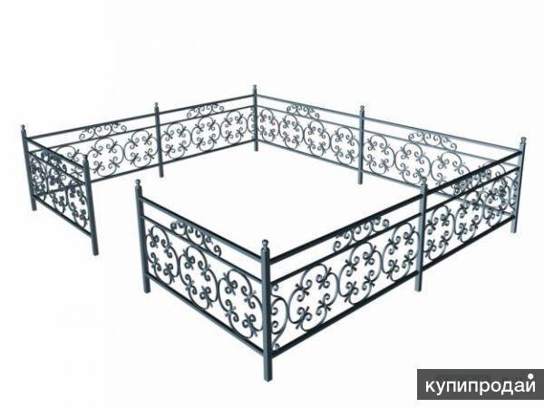 Изготовление оградок, столиков