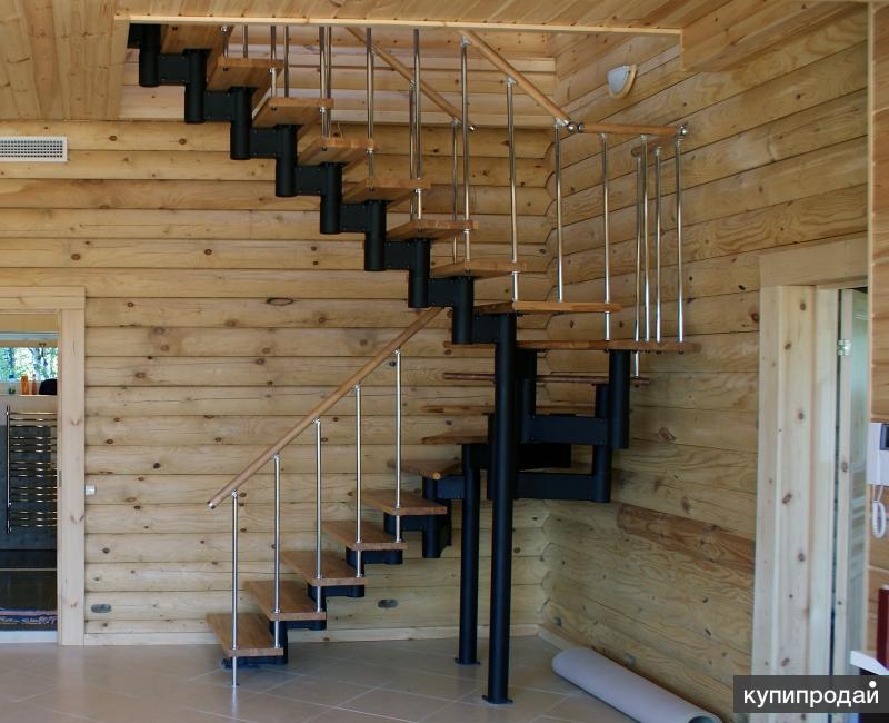 Проектирование, продажа и монтаж модульных лестниц