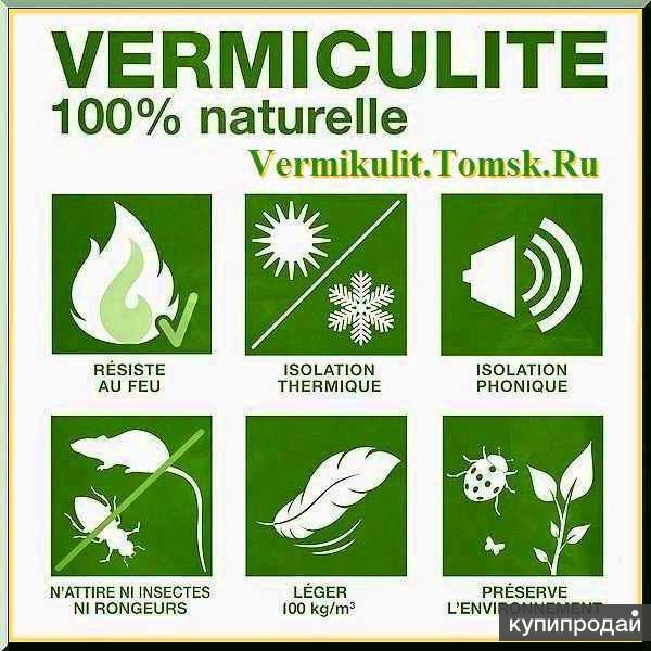 Вермикулит и изделия от Производителя