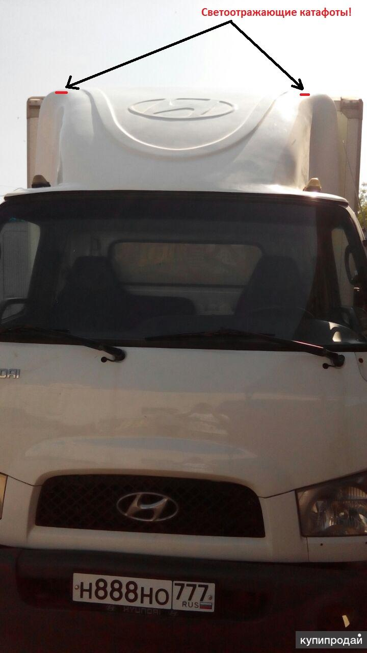 Спойлер на Hyundai НD 78, 72, 65.