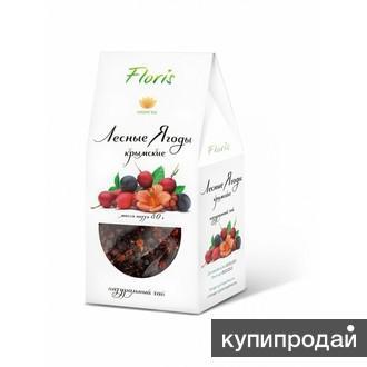Натуральный Крымский чай «Лесные ягоды»,80гр.
