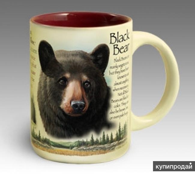Кружка керамическая Black Bear (American Expedition)