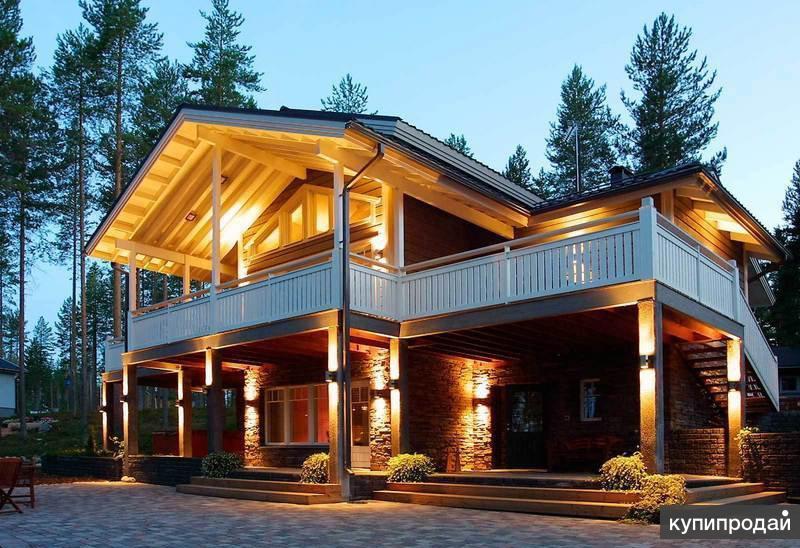Строительство домов, коттеджей, бань, коммерческой недвижимости.