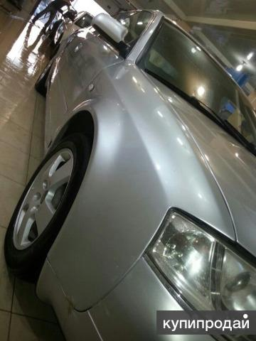 Audi A6 серебряный седан
