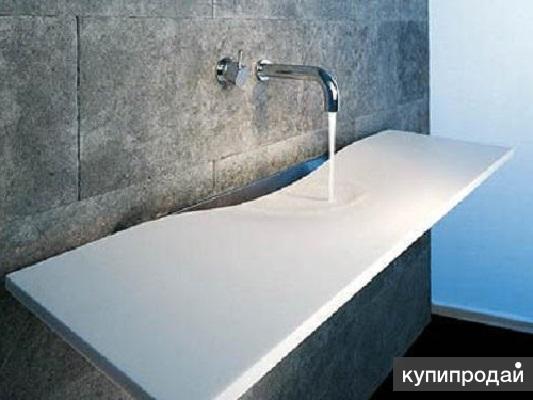 Изготовление ванны из искусственного камня