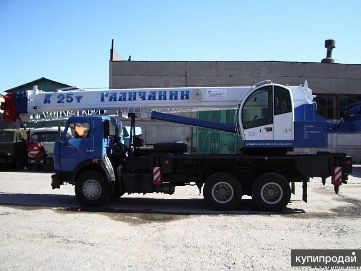 Аренда автокранаот 16 до 32 тонн