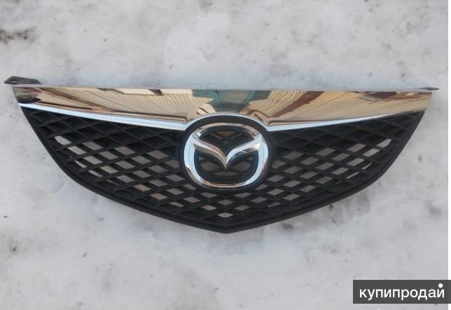 Для Mazda 3 (06-09) седан (BK) решетка радиатора