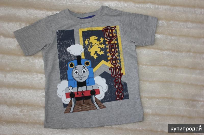 """Новая футболка """"томас и друзья"""""""