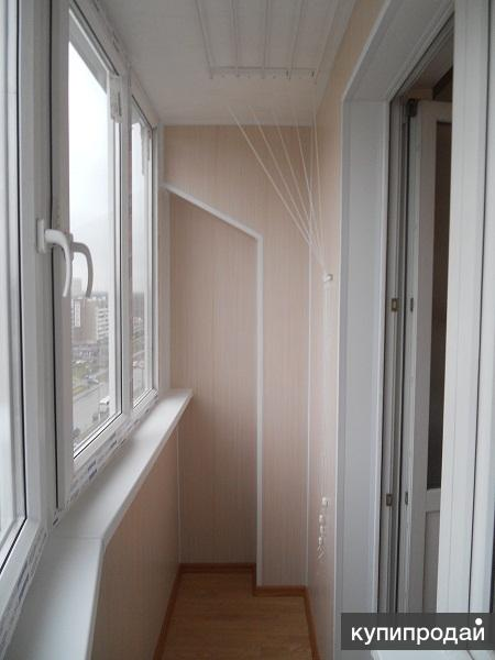Остекление балконов под ключ москва.