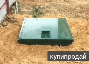 Монтаж септика под ключ - Юнилос, Тополь, Топас
