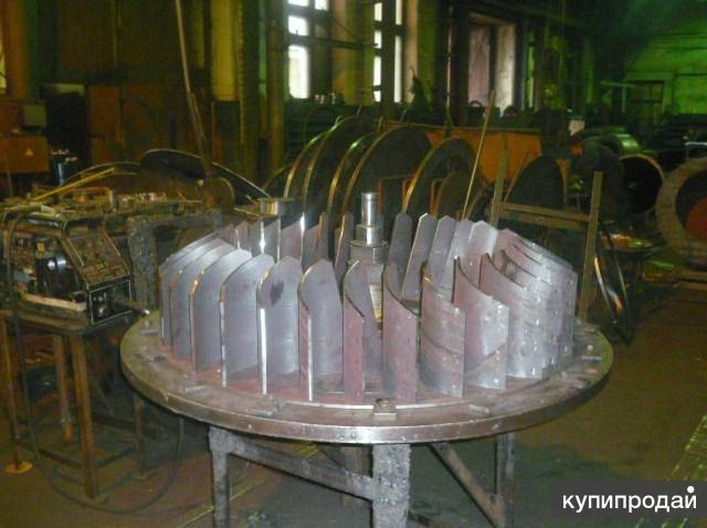 Изготовим рабочие колёса к дымососам и вентиляторам.