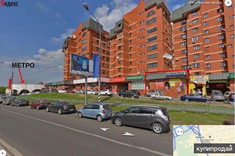М. Орехово у выхода торговая площадь 183 кв.м