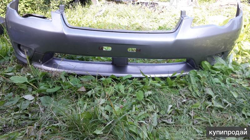 бампер передний на субару легаси
