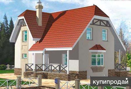 Дом из кирпича 11 х 12