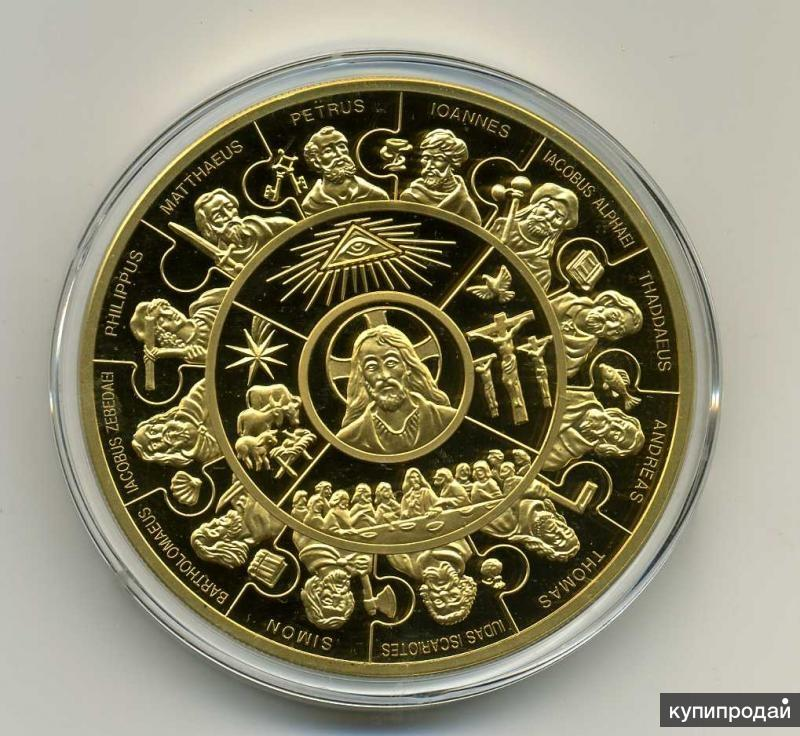 Монета золото