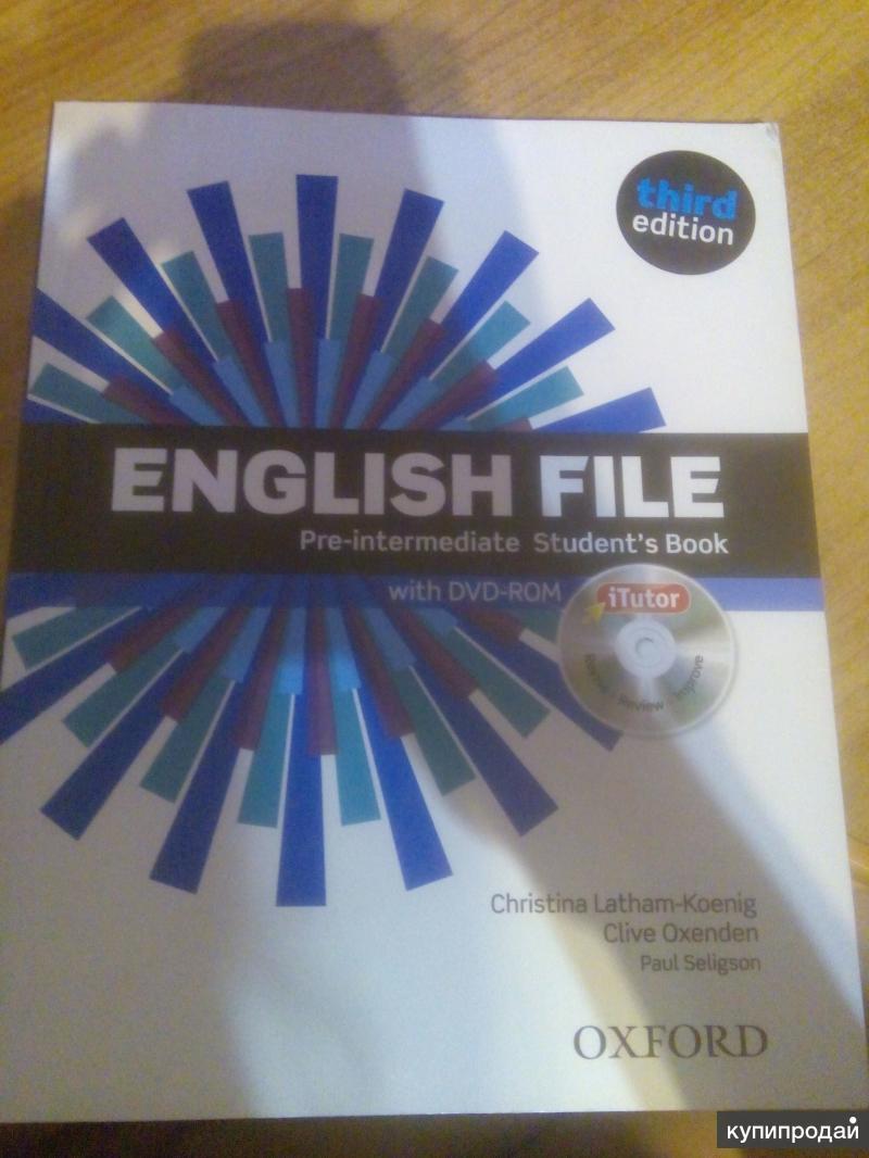 Гдз По Английскому New English File Pre-intermediate Students Book