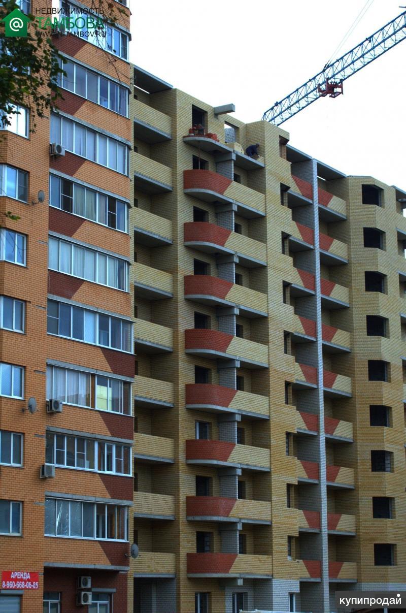 авито тамбов новостройки квартиры 1 комнатные сад