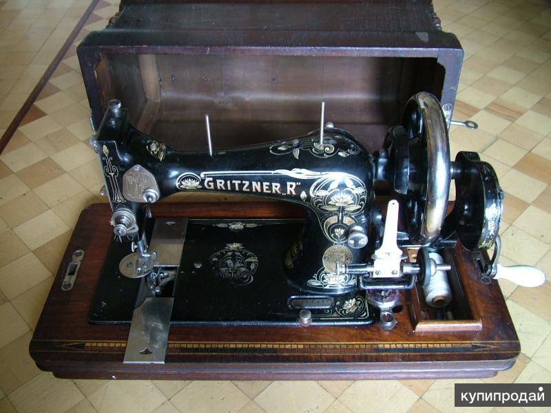 Швейная машинка Gritzner. 1900-е
