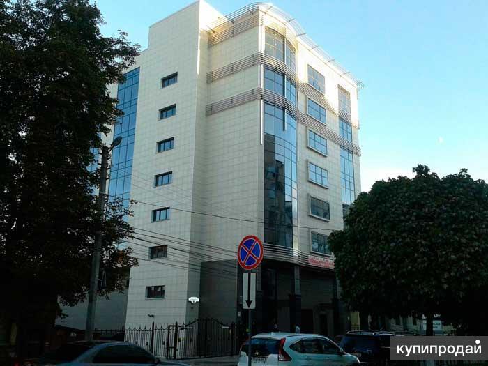Офисное здание с автостоянкой в г. Курске