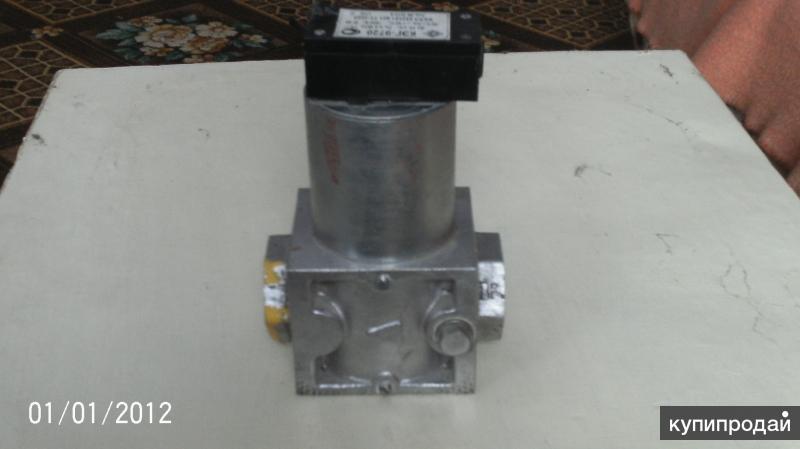 Эл. магн. газовый клапан Ду20