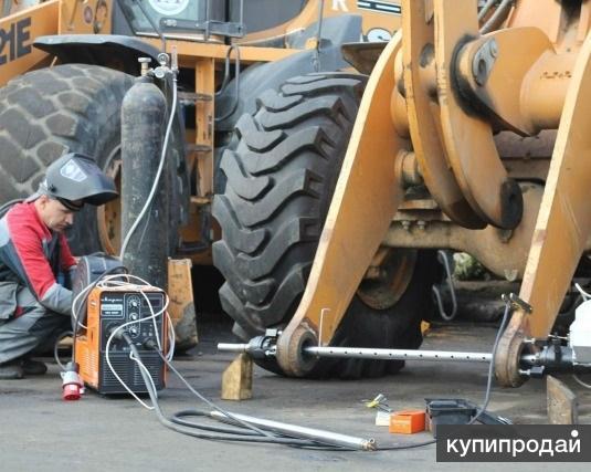 Восстановление отверстий под пальцы от 20 до 500 мм