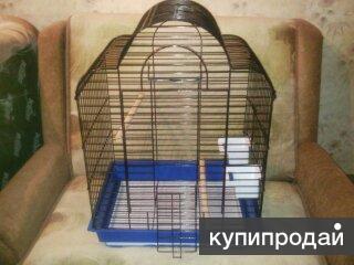 Клетка для птиц и крупных грызунов (большая)