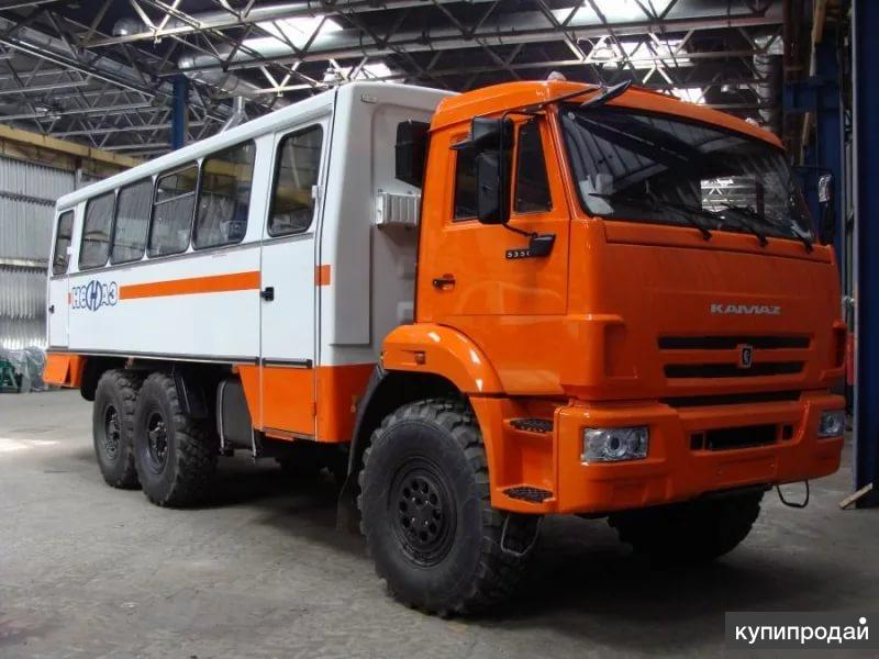 НЕФАЗ 4208-411 Вахтовый автобус 22+2места