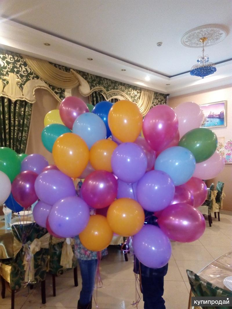 Оформление воздушными шарами!)))