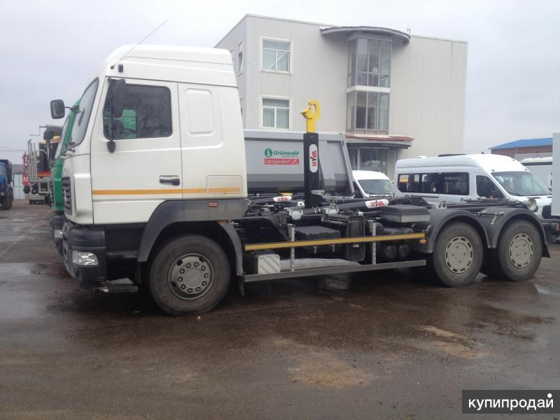 АС-21М4 (63371U) на шасси МАЗ 6312B9-429-012 Евро-4 (нав. Hyvalift) мультилифт