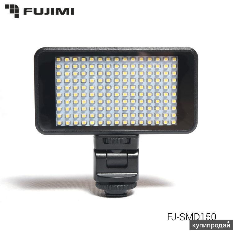 FJ-SMD150 накамерный свет на SMD диодах для DSLR видео и фото съёмки.