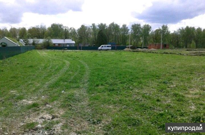Продам большой участок земли под ижс 41 сотка, тульская область, км от мкад.