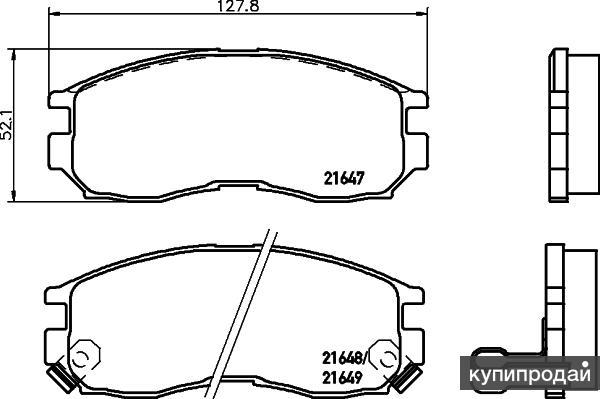 Тормозные колодки от Hella Pagid для Honda Accord, Hyundai Santamo, Mitsubishi