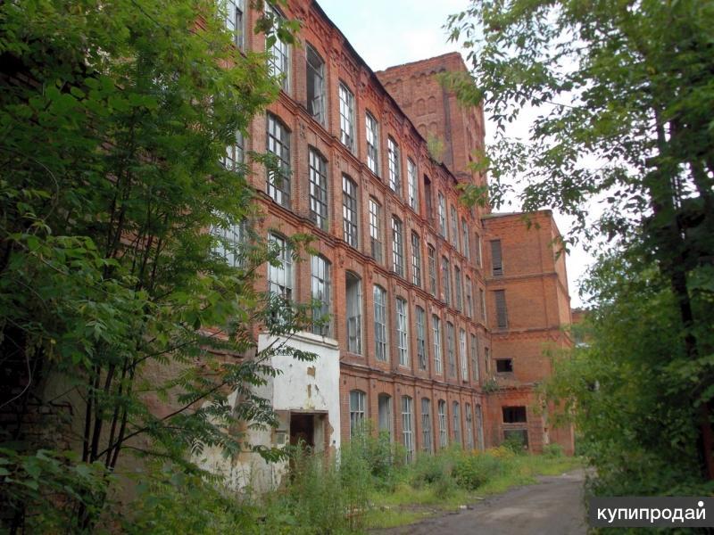 Производственная площадка 60 тыс кв.м в г. Вичуга