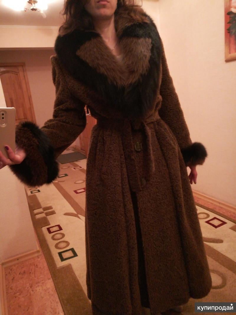 Эксклюзивное пальто (производство Италия)