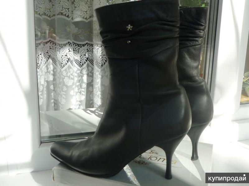 Ботинки(натуральная кожа)