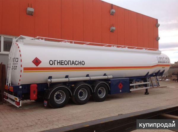 Полуприцеп-цистерна для транспортировки светлых нефтепродуктов NURSAN 45 м3