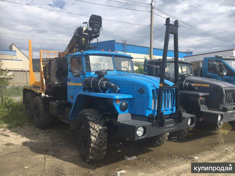 Лесовоз Урал 55571 (V-образ.) с ГМ ОМТЛ-70.02 В наличии Новый Цена Купить