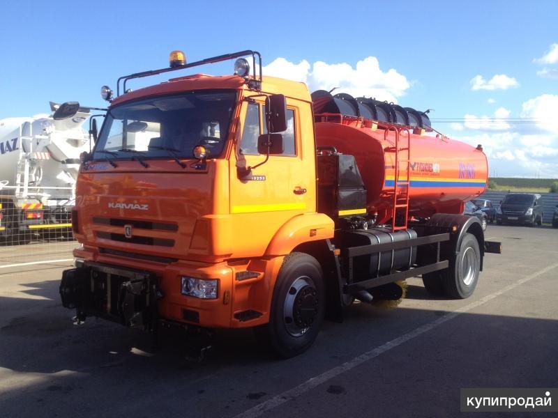 КО-806-01 на шасси КАМАЗ 43253-3010-28 Евро-4 (ПМ+отв.+щетка)