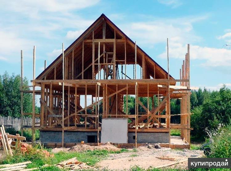 Постройка каркасного дома с мансардой в Пензе, проекты
