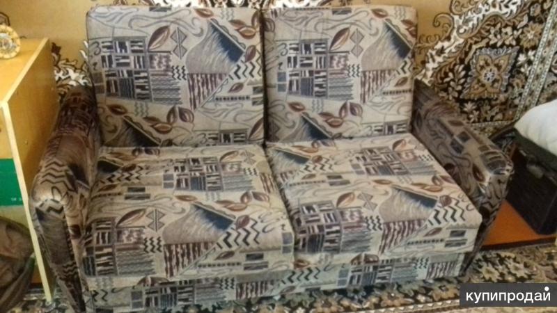 Продам диван раскладной пружинный