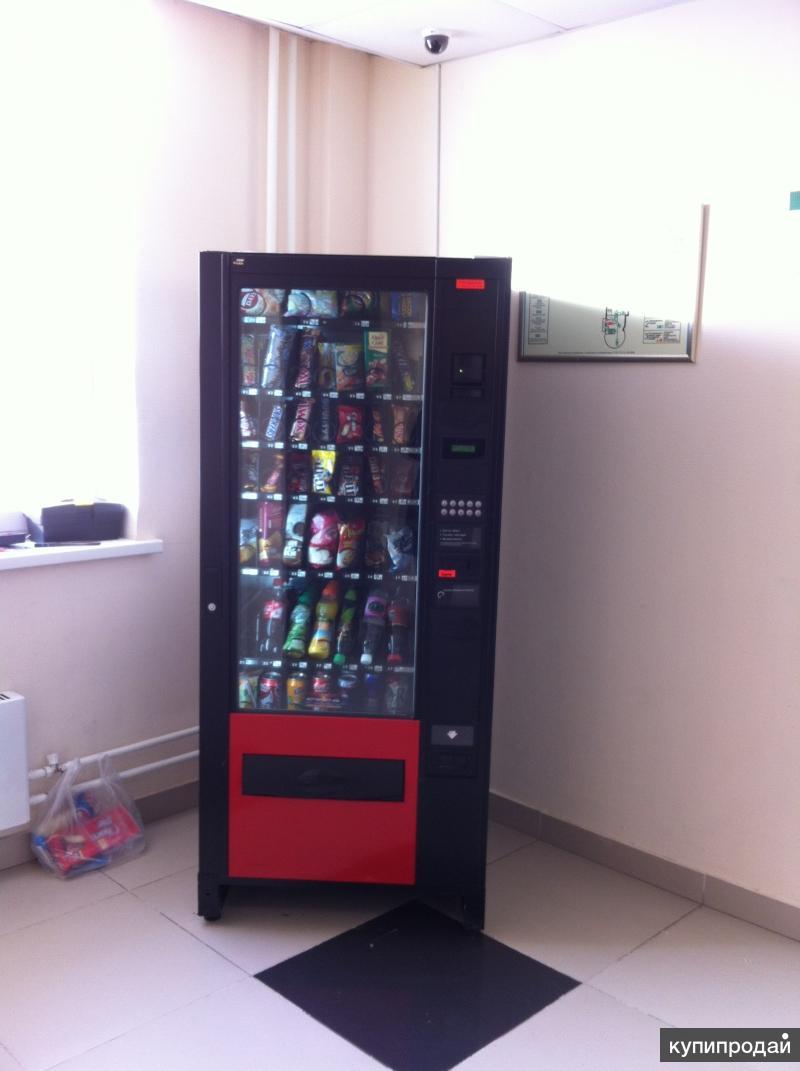 Снековый автомат (Сеть из пяти снековых автоматов)