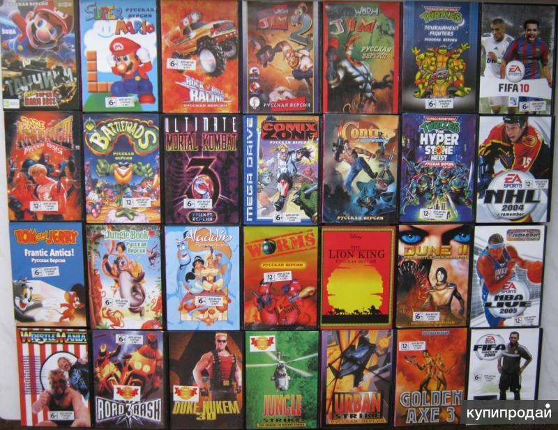 игры на сега список всех игр с картинками многих других