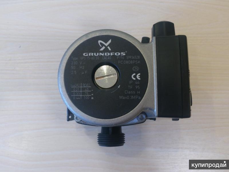 Насос GRUNDFOS Type UPS 15-60 SD ~230v 50Hz 2.5mF Class H