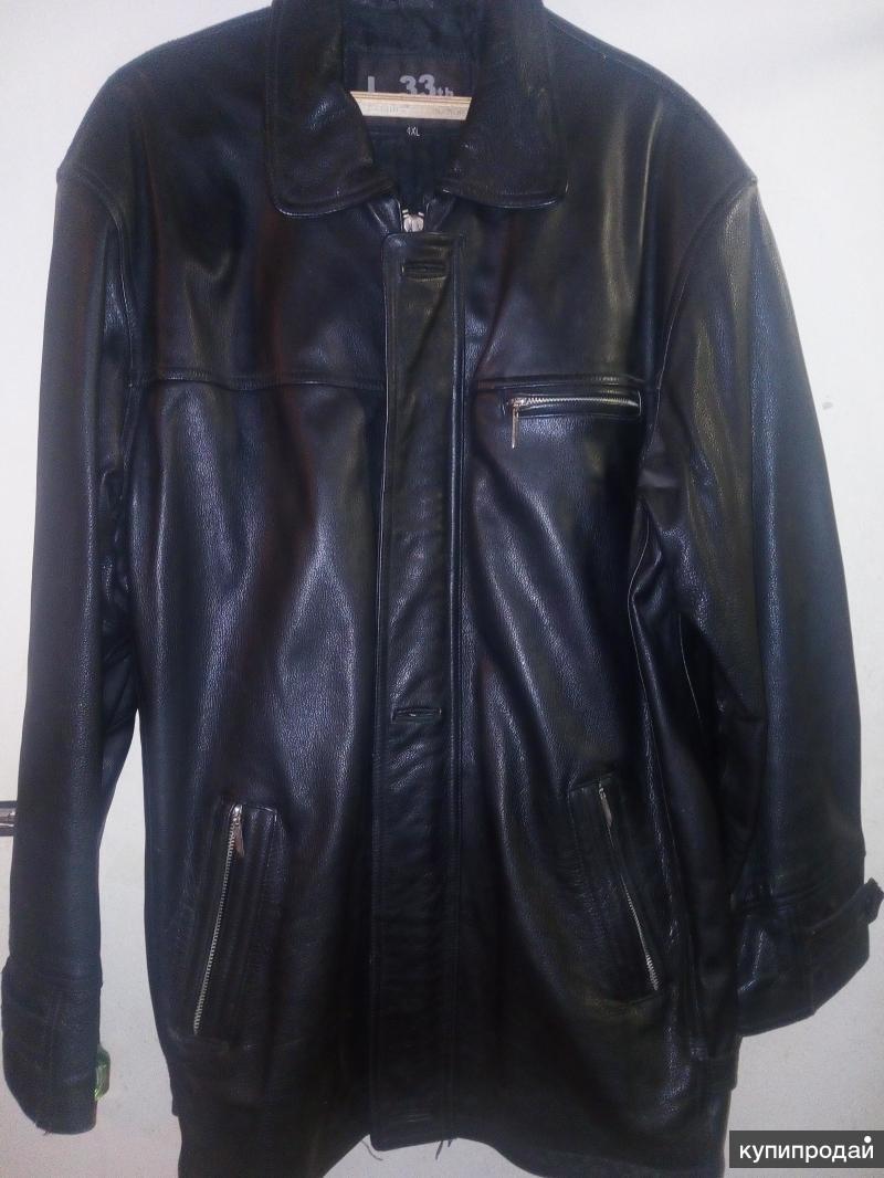 Продам куртку мужскую нат.кожа